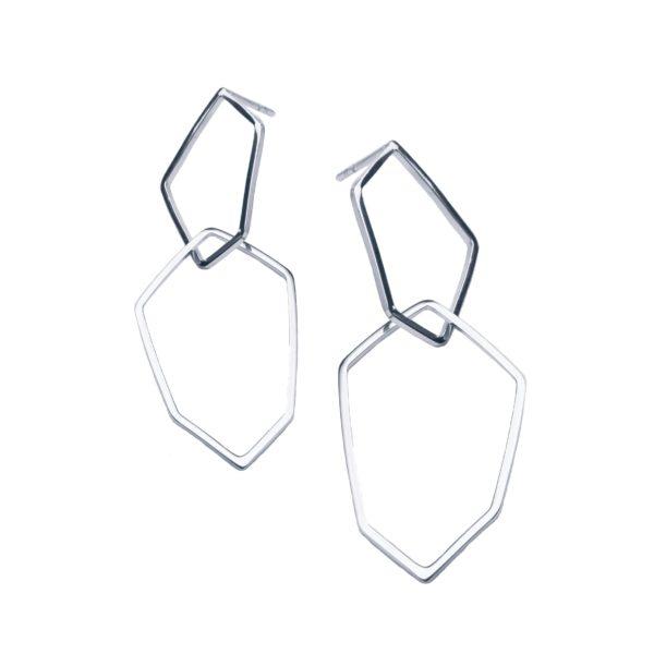 Box Jewellery Earrings  Pioni DesignPioni Design silver earrings