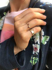 MaryLou Rings  TiaréDouble Tiaré Ring