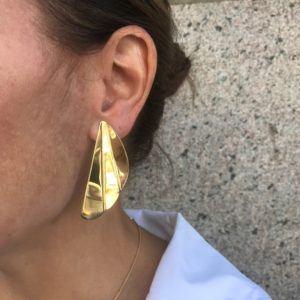 Rebekka Notkin Earrings  FLAMEFlame Pleaded Earclips