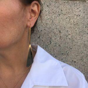 Rebekka Notkin Earrings  FLAMEFlame Pleaded Earhangers