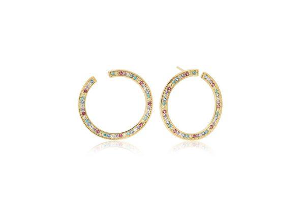 Sif Jakobs Jewellery Earrings  VALIANOGold-plated Valiano Earrings