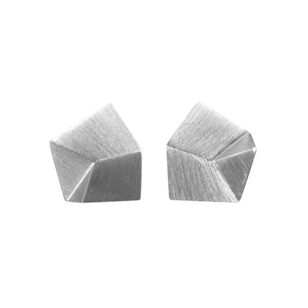 Sofie Lunøe Earrings  FlakeSilver Flake Earrings