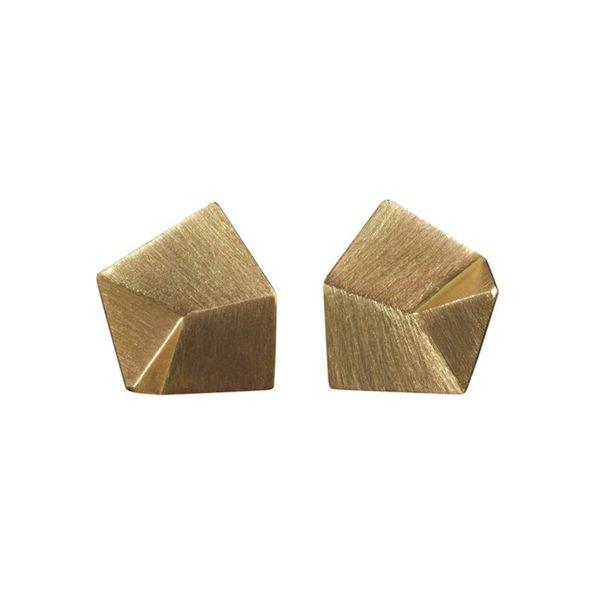 Sofie Lunøe Earrings  FlakeGold Flake Earrings