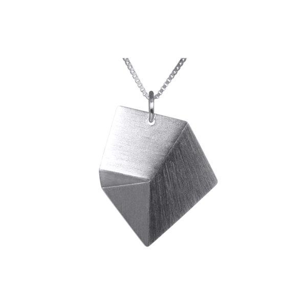 Sofie Lunøe Necklaces  FlakeMedium silver Flake necklace