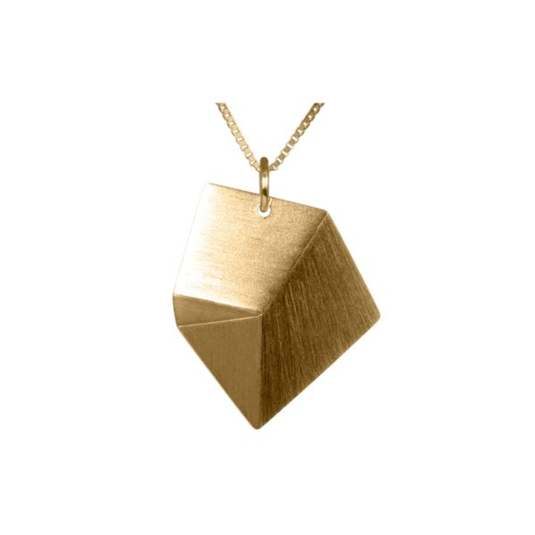Sofie Lunøe Necklaces  FlakeMedium gold Flake necklace