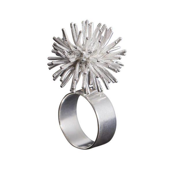 Sofie Lunøe Rings  PomponSilver Pompon Ring