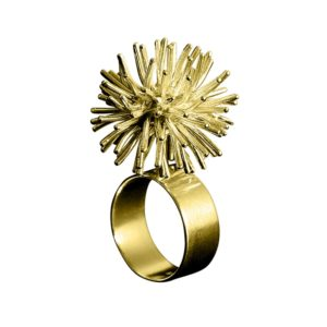 Sofie Lunøe Rings  PomponGold Pompon Ring