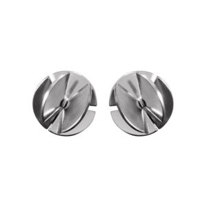 Sofie Lunøe Earrings  Fan SphereSmall silver Fan Sphere Earrings