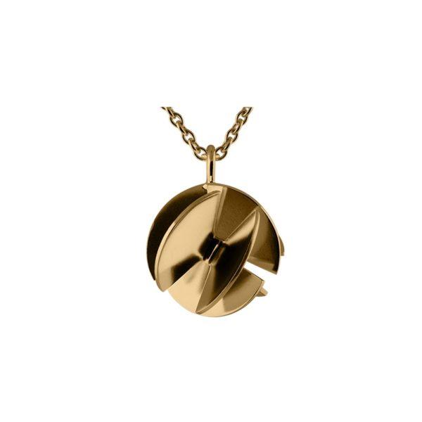 Sofie Lunøe Necklaces  Fan SphereGold Fan Sphere Necklace