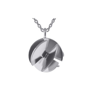Sofie Lunøe Necklaces  Fan SphereMedium silver Fan Sphere Necklace