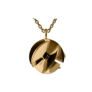 Sofie Lunøe Necklaces  Fan SphereMedium gold Fan Sphere Necklace