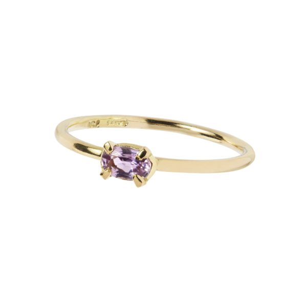 Carré Jewellery Rings  FOREVER AFTERPink oval sapphire ring