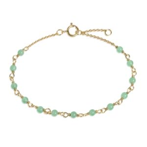 Carré Jewellery Bracelets  COLOUR OF ENVYGreen chrysopras bracelet