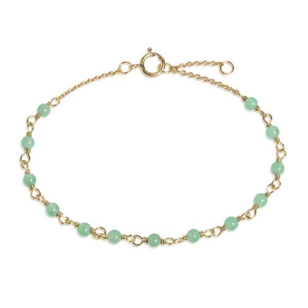 Carré Jewellery Bracelets  COLOUR OF ENVYGreen chrysopras bracelet