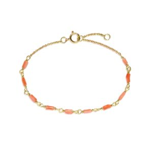 Carré Jewellery Bracelets  CONTEMPORARY COCKTAILRed coral bracelet