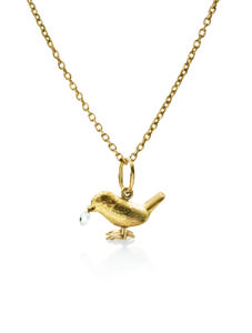 Carré Jewellery Necklaces  BIRDY NUM NUMDiamond drop pendant