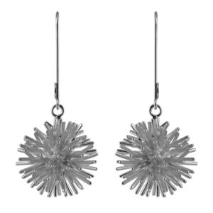 Sofie Lunøe Earrings  PomponSilver Pompon earrings