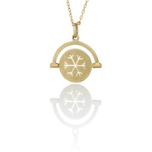 Nord By Thomsen Necklaces  Spinning SilhouetteSnowflake