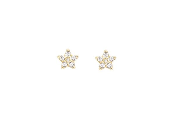Ole Lynggaard Copenhagen Earrings  Mini Shooting Star earrings