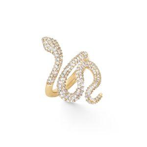 Ole Lynggaard Copenhagen Rings  Pavé medium Snake ring