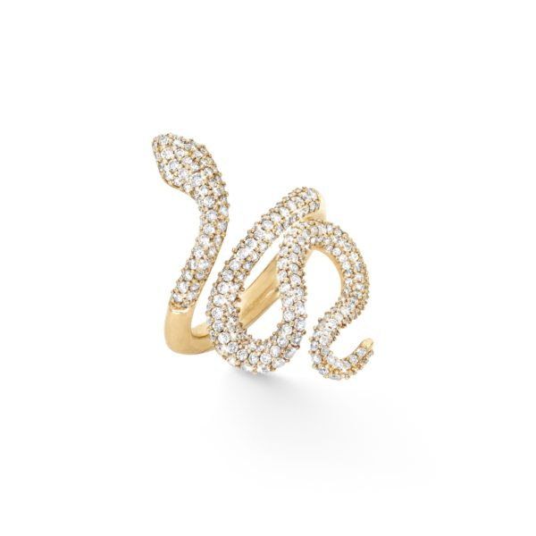 Ole Lynggaard Copenhagen Rings  Pavé medium Snake ring