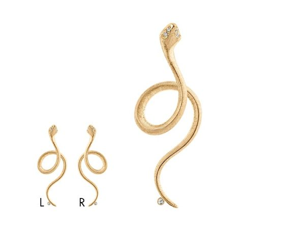 Ole Lynggaard Copenhagen Earrings  Snake earring