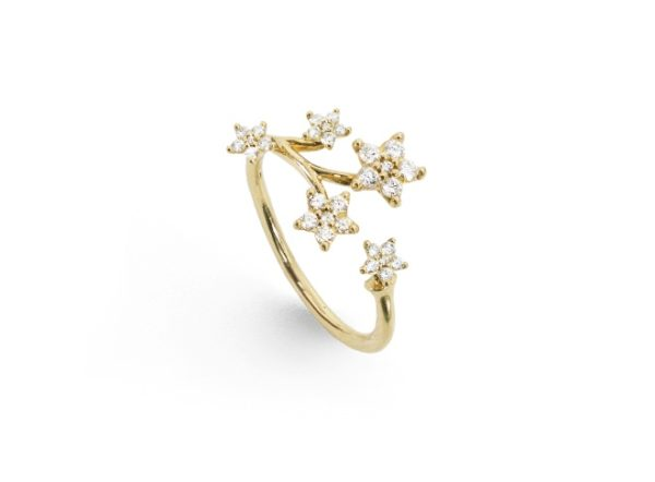 Ole Lynggaard Copenhagen Rings  Pavé Shooting Star ring