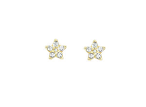 Ole Lynggaard Copenhagen Earrings  Shooting StarsSmall Shooting Star earrings