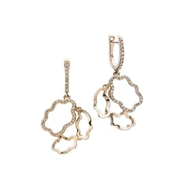 Vieri Responsible Fine Jewellery Earrings  Clouds CollectionGolden Clouds Earrings