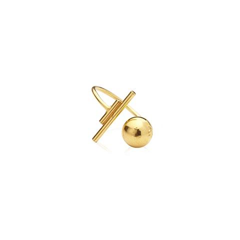Vera Vega Rings  SymbolsBallroom goldplated ring
