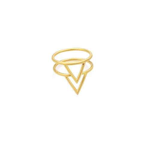 Vera Vega Rings  Willow Double Gold-plated