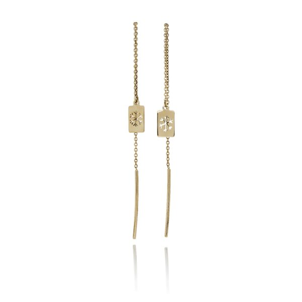 Nord By Thomsen Earrings  Little SilhouetteSnowflake