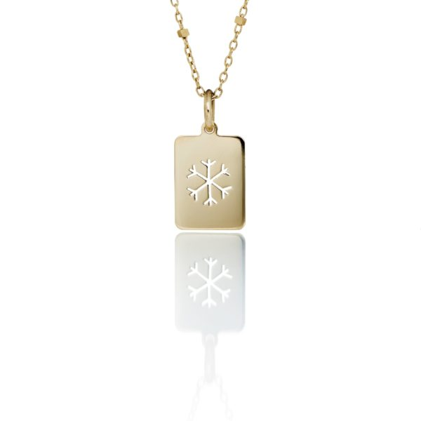 Nord By Thomsen Necklaces  Little Silhouette MediumSnowflake