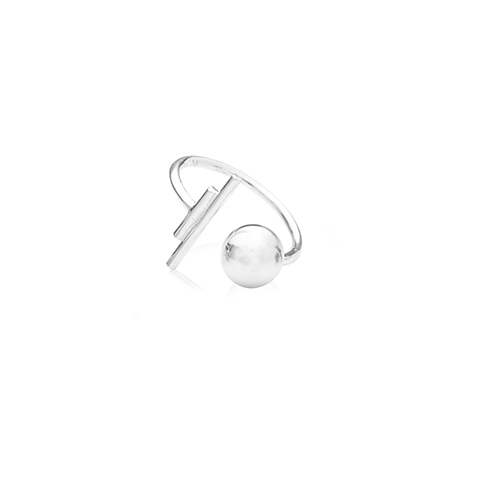 Vera Vega Rings  SymbolsBallroom silver ring