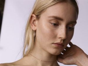 By Pariah Earrings Hoops  IDouble Crossing