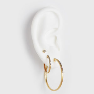 By Pariah Earrings Hoops  IIVI