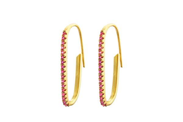 Charlotte Bonde Earrings  IrmaPaper Clip Earrings
