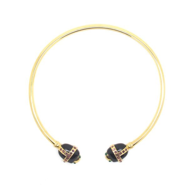 Amanda Marcucci Necklaces  EgyptKhepri Black Onyx Scarab
