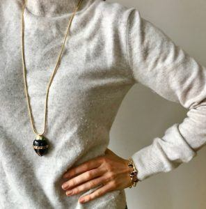 Amanda Marcucci Bangles  EgyptKhepri Black Onyx Scarab