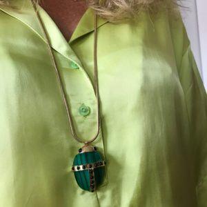 Amanda Marcucci Necklaces  EgyptKhepri Amethyst Scarab