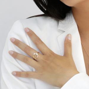 Josina Rings  GalaxyGalaxy ring in gold