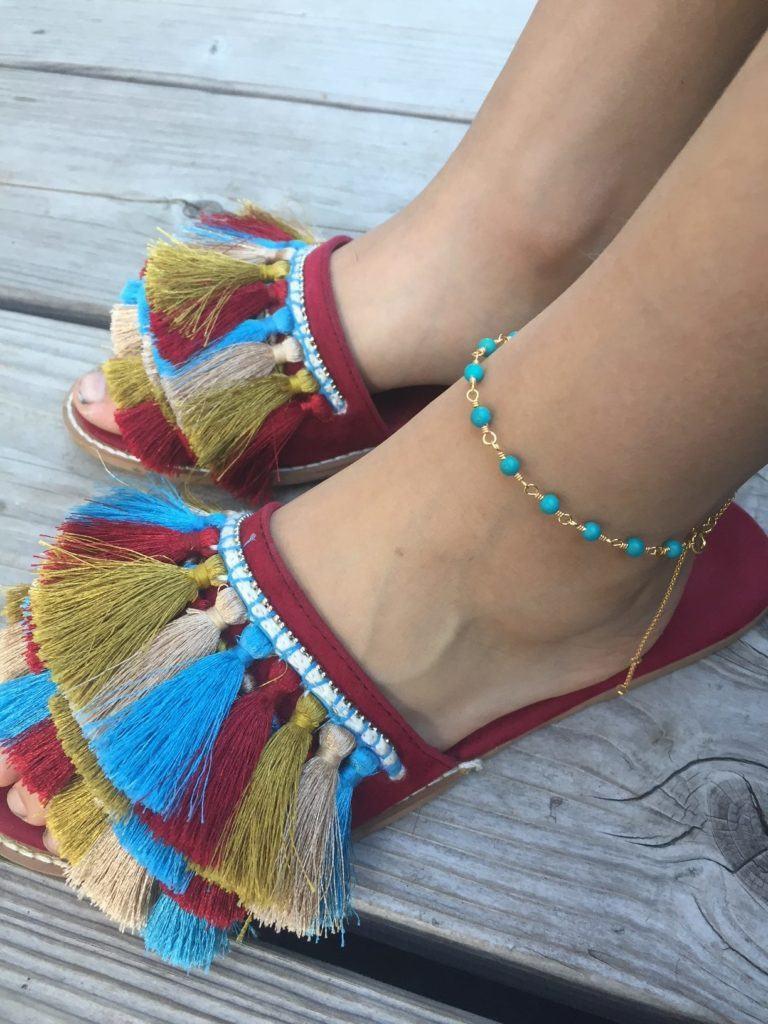 carre-anklet
