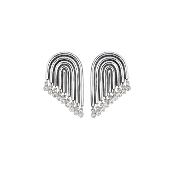 Ninna York Earrings  SupersonicDiamond Earrings