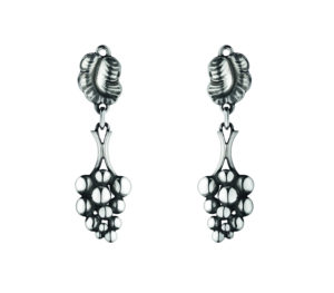 Georg Jensen Earrings  Moonlight GrapesGrape Earclips