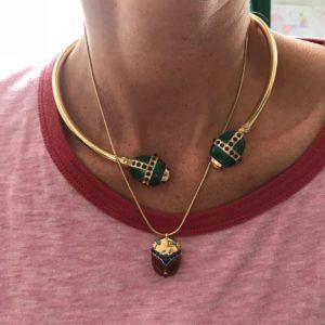 Amanda Marcucci Necklaces  EgyptKhepri Red Japer Scarab