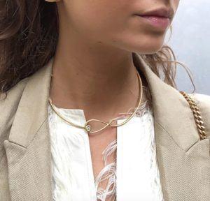 Dulong Fine Jewelry Necklaces  KharismaKharisma silver neckring
