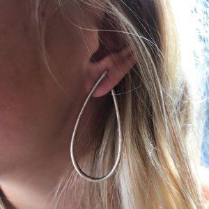 Dulong Fine Jewelry Earrings Hoops  KharismaMega Kharisma silver earrings
