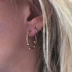 Dulong Fine Jewelry Earrings Hoops  DelphisSmall Delphis Hoops