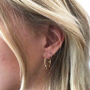 Dulong Fine Jewelry Earrings Hoops  DelphisSmall Deplhis creol