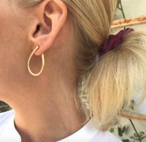Dulong Fine Jewelry Earrings Hoops  KharismaMedium Kharisma earrings